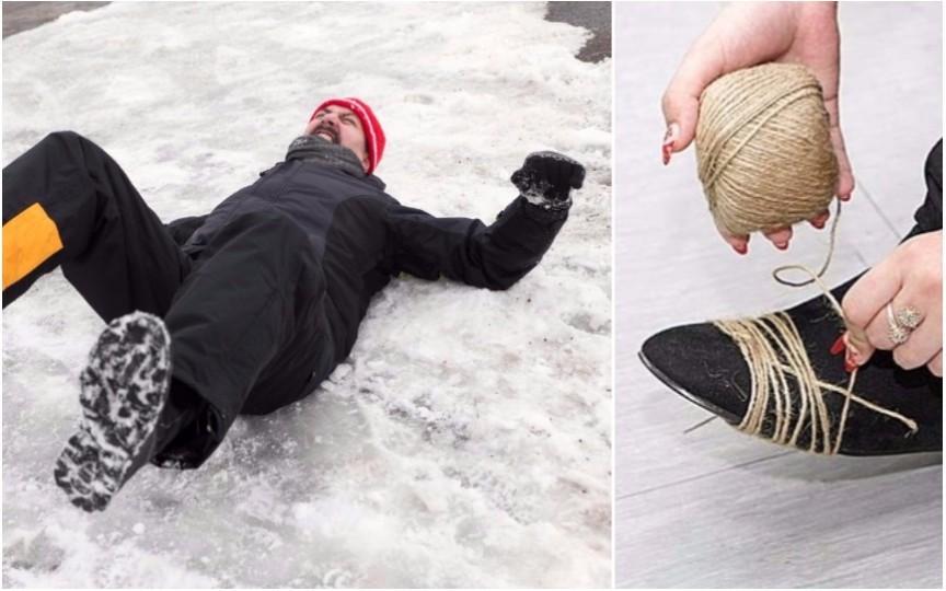 7 trucuri ca să nu aluneci pe gheață