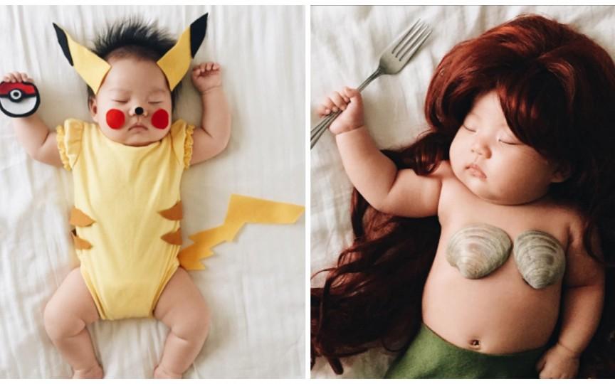 Idei de poze pentru mămicile cu bebeluși