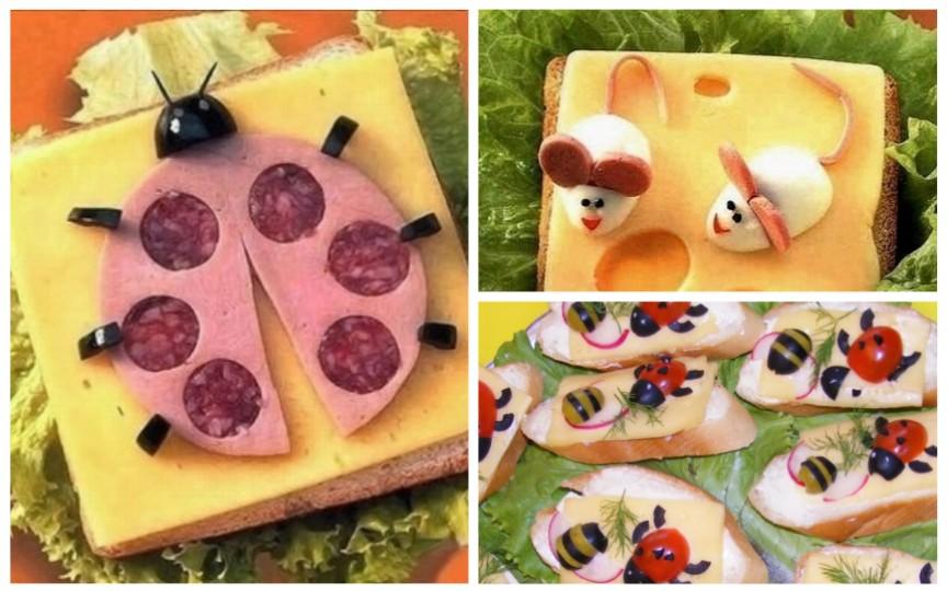 10 idei creative de tartine pentru copii