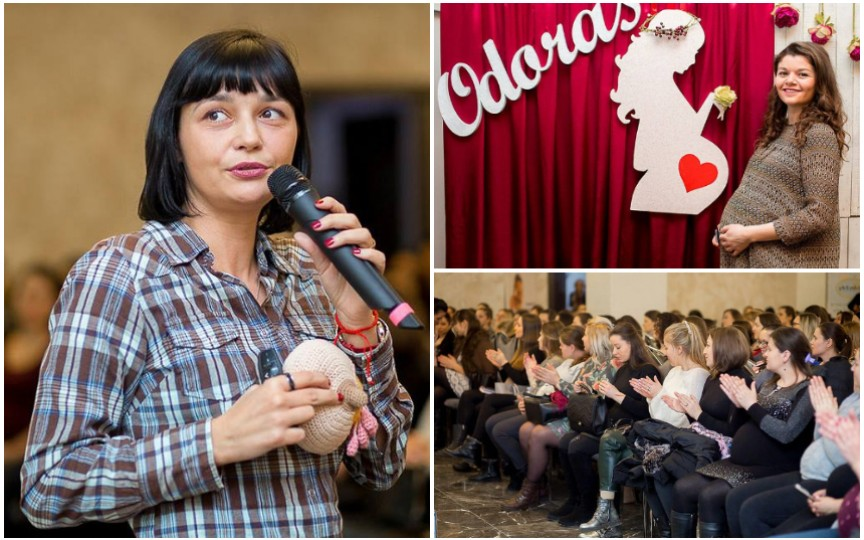 Curs de îngrijire a nou-născutului, cu Olga Gutium, la Festivalul Graviduțelor. Participarea este gratuită!