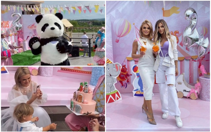 Fetiţa Danielei Ciocanu a împlinit doi ani! Ce petrecere frumoasă i-a organizat prezentatoarea