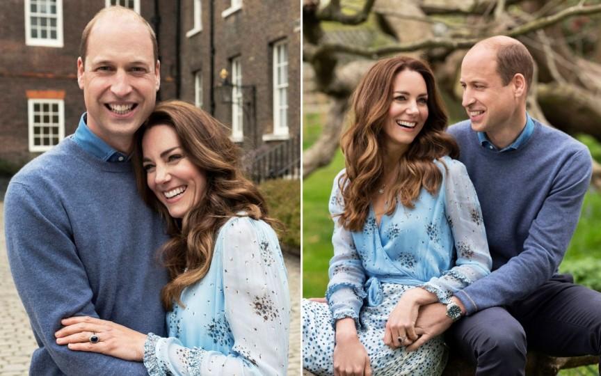 Prințul William și Kate Middleton, 10 ani de la nuntă. Cele mai superbe imagini!
