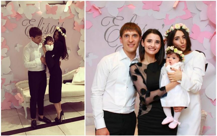 Elena Bivol și-a botezat fetița și a făcut publice primele imagini cu chipul Elisei