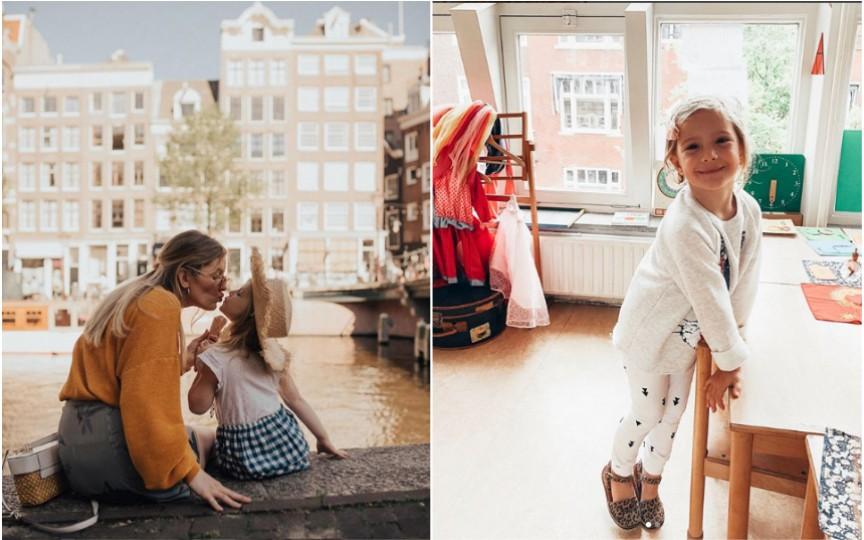 Ce dificultăți întâlnește fiica bloggeriței Anei Ciorici la noua ei școală din Olanda