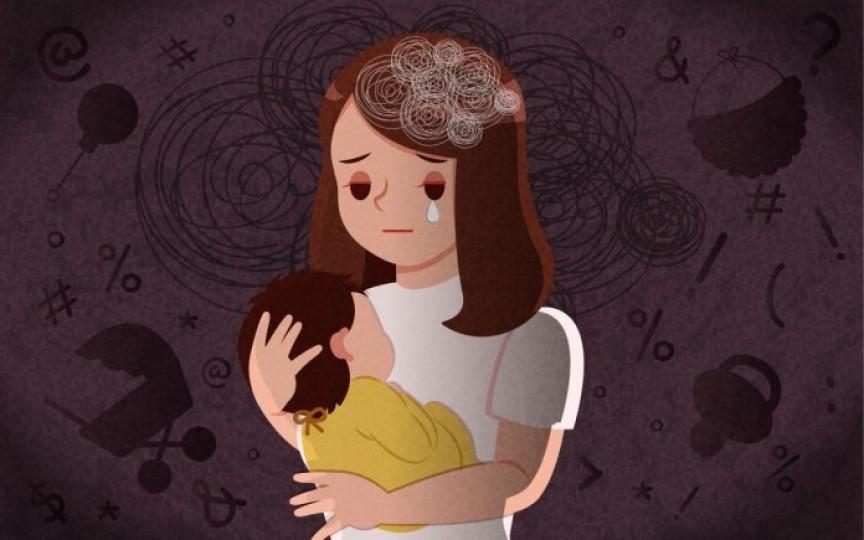 Istoria unei femei cu depresie postnatală: Am slăbit 28 kg, sunt obosită, nemâncată, nespălată și nu vreau să mai fiu aici