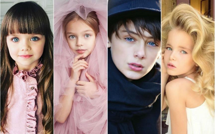Top 10 cele mai cotate modele-copii din întreaga lume