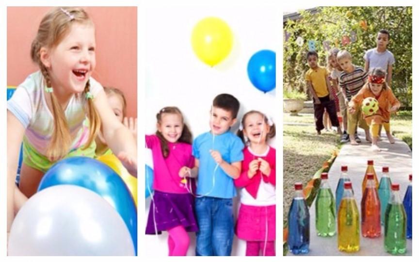 Jocuri și concursuri pentru o petrecere cu copii