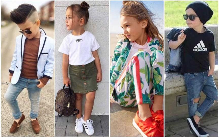 Moda 2018. Cum îți îmbraci copilul în această primăvară