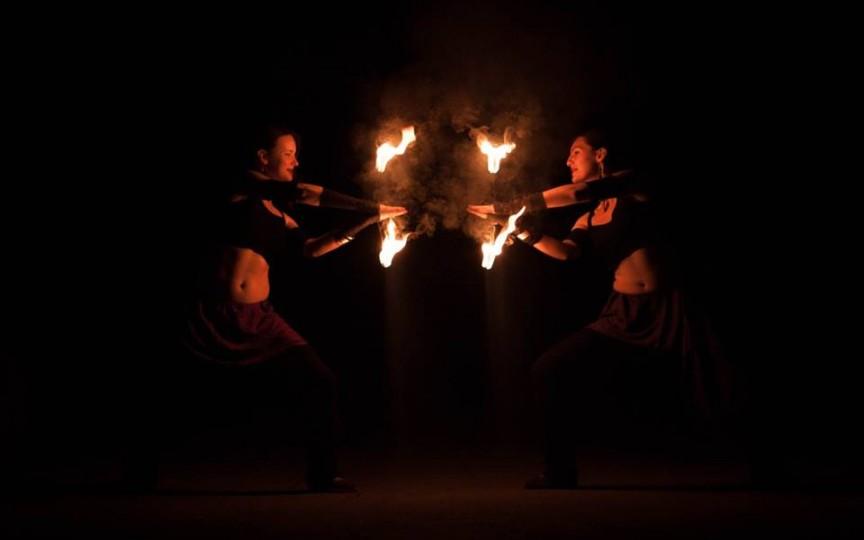 Un nou spectacol de foc la Chişinău