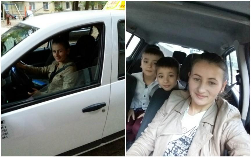 Am devenit şoferiţă de taxi pentru a-mi putea întreţine copiii