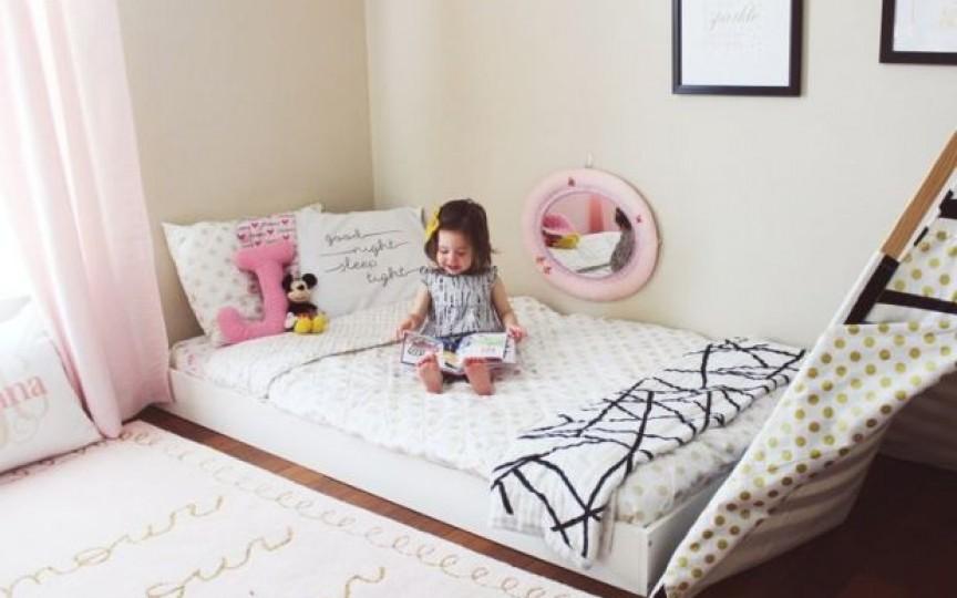 5 principii Montessori pentru amenajarea camerei copilului