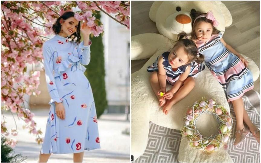 Lilia Ojovan: Nu sunt genul de mamă care încearcă să își facă fetițele mici fashioniste