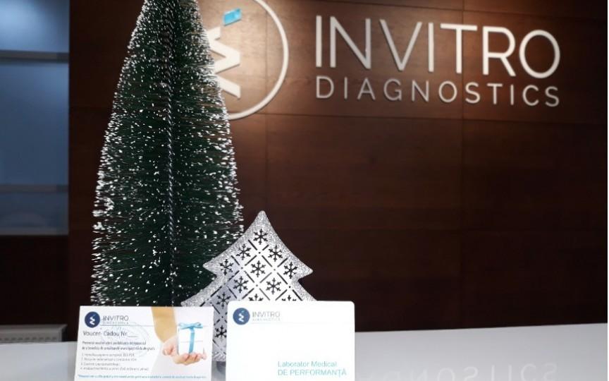Laboratorul medical INVITRO Diagnostics oferă cadouri frumoase la Crăciunul Copiilor