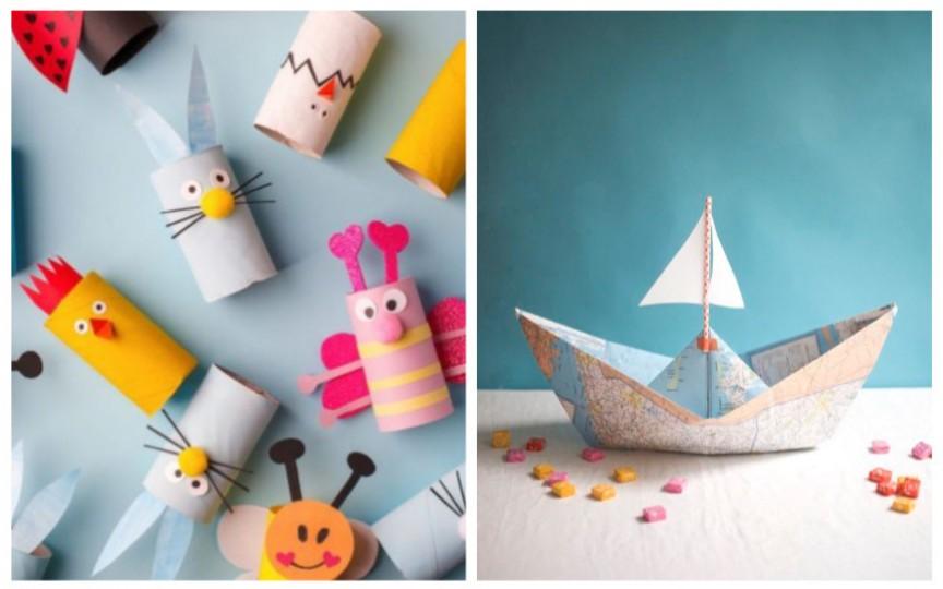Activități creative pentru copii cu ceea ce ai prin casă