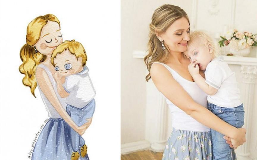 Ilustratoarea care transformă oamenii obișnuiți în personaje de poveste