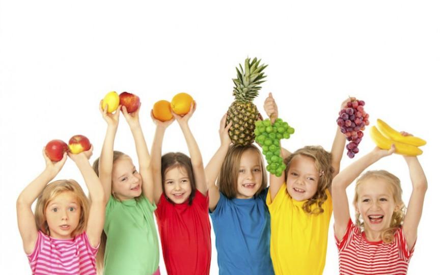 Cântece: învățăm fructele și legumele