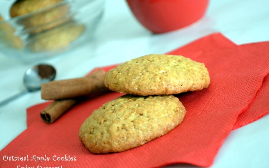 Biscuiți cu ovăz și scorțișoară – rețetă dietetică și sănătoasă