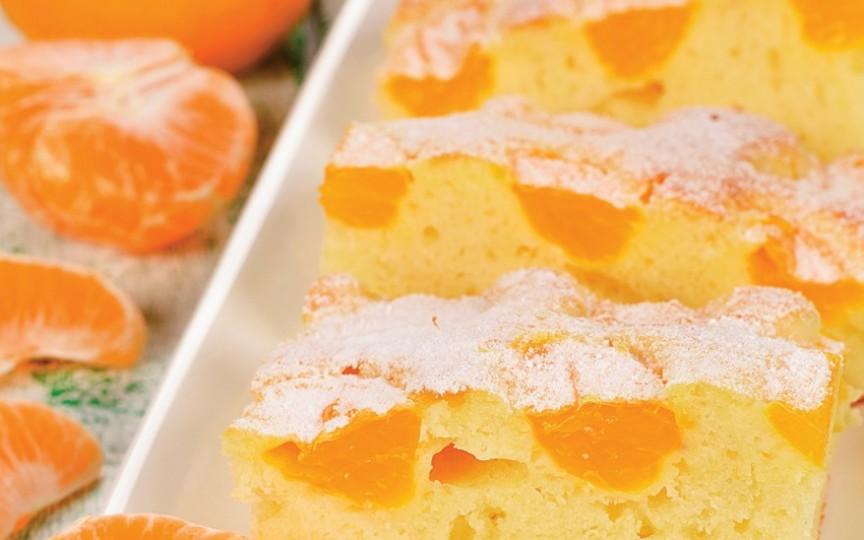 Prăjitură cu clementine – rețetă de sezon