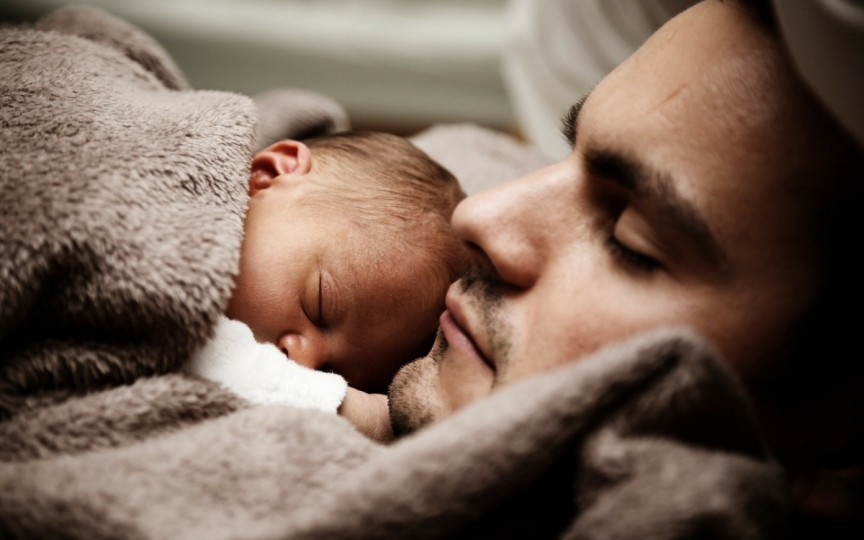 Elementele pe care copiii le moștenesc preponderent de la tată