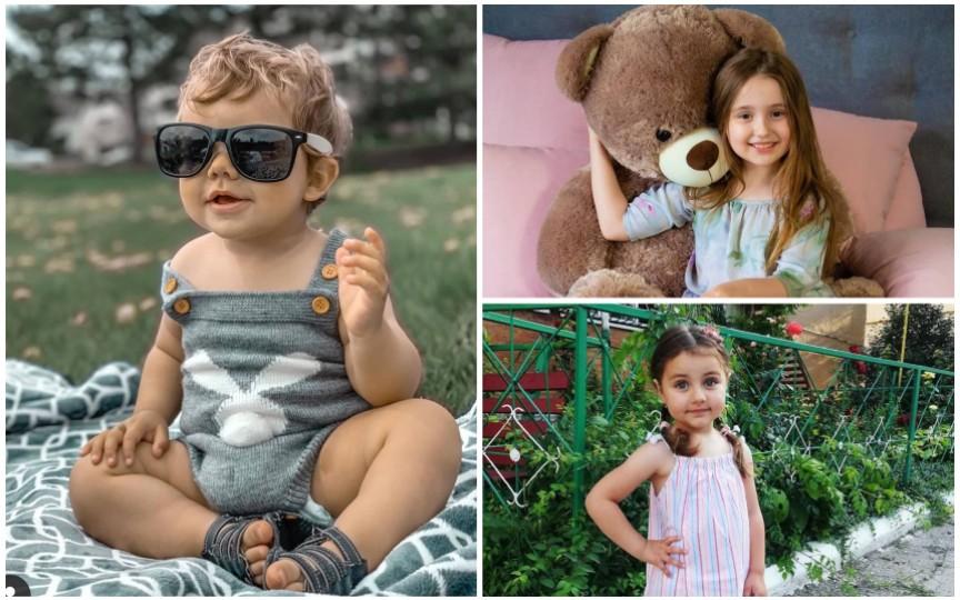 (FOTO) Copii din toate colțurile lumii sunt noile modele ale Revistei Odoraș
