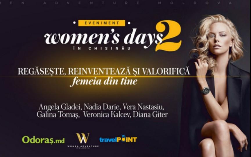 Ești invitată la un seminar motivațional susținut de 6 femei puternice din Moldova