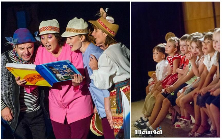 Teatrele din Chişinău îşi deschid stagiunea. Vezi ce spectacole pentru copii au loc în septembrie!