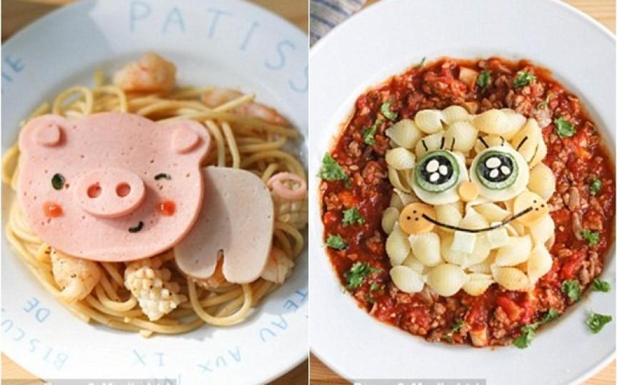 Idei ingenioase de aranjare a mâncării în farfuria copilului