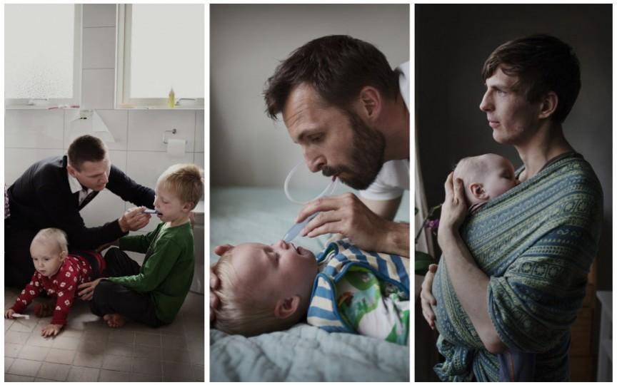 """Concurs de fotografie pentru bărbații moderni """"Tații din Moldova și Suedia"""""""