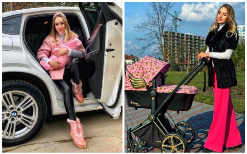(FOTO) Interpreta Kătălina Rusu i-a dedicat un mesaj emoționant fetiței sale de doar o lună