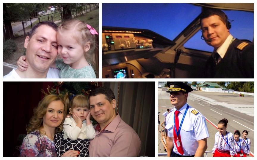O zi din viața unui tată-pilot: dimineața e la celălalt capăt al pământului, seara își ia copilul de la grădiniță