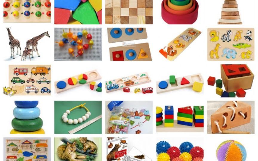 Jucării interesante și utile pentru copii în funcție de vârstă