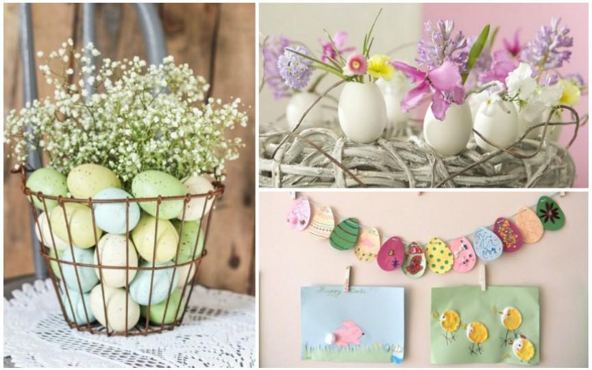 Cele mai inedite decorațiuni de Paște pentru casa ta