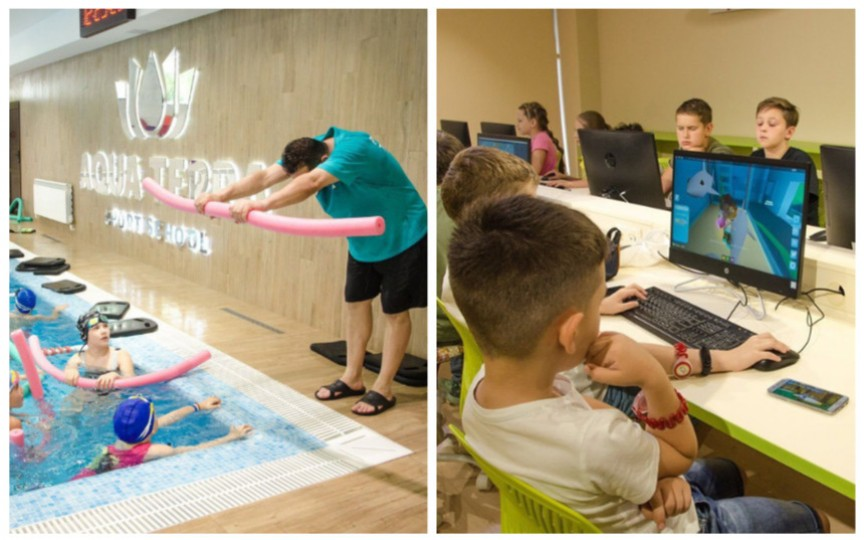 Dăruiți-le copiilor o vară de neuitat la Aquaterra Sport School!