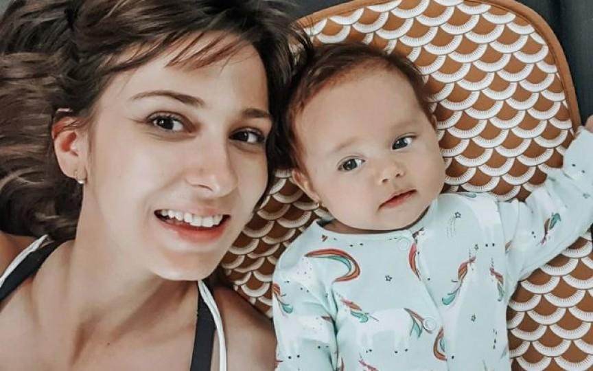Dana Rogoz povestește cum a arătat viața de gravidă pe timp de pandemie