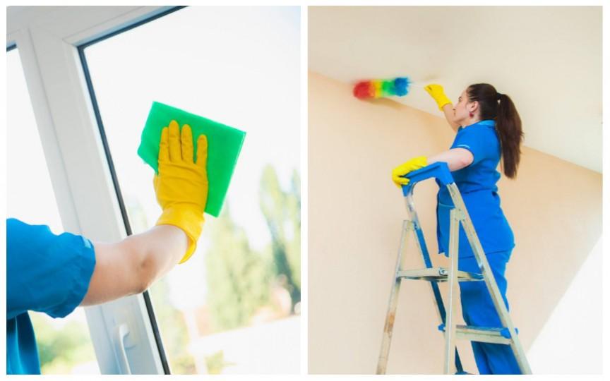 Iată la cine puteți apela după ajutor pentru a face curățenie generală în casă și nu numai