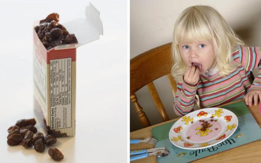 Testul cu stafide: Află cât de inteligent va fi copilul tău la vârsta de 8 ani