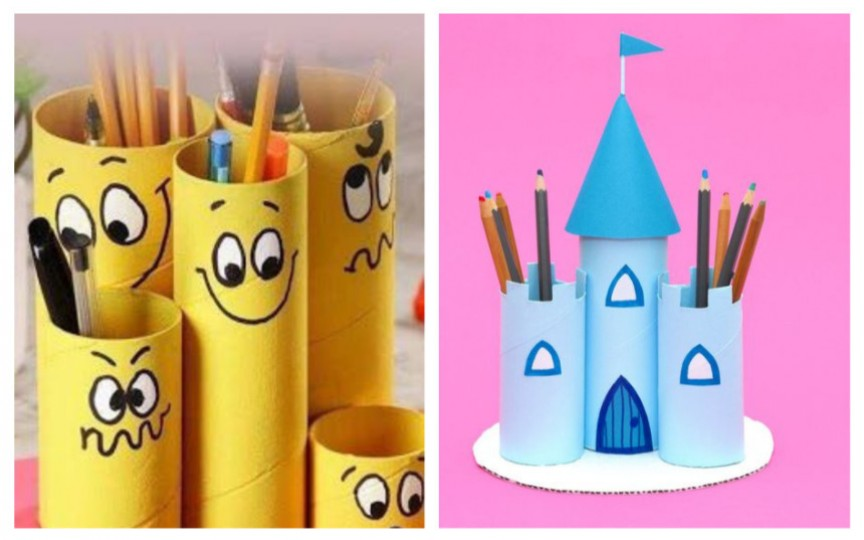 (FOTO) Aplicații cu tuburi de la hârtia igienică și prosoapele pentru bucărie