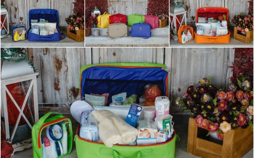 Vezi care e conţinutul bagajului pentru maternitate. Mama Box îţi vine în ajutor repede şi calitativ!