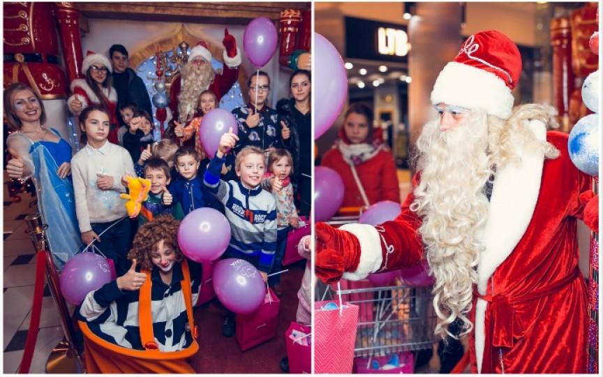 Clinchete de clopoței și zâmbete de copii la Shopping MallDova