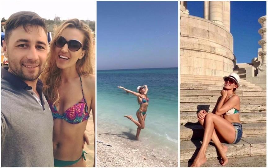 Vezi unde a ales Tatiana Heghea să-și petreacă vacanța de vară