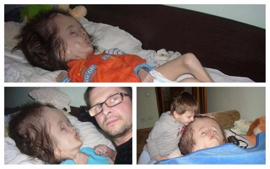 Șase lecții pe care le-a învățat un tată de la copilul său bolnav de la naștere