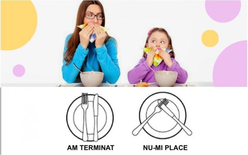 Aspecte importante care țin de bunele maniere la masă