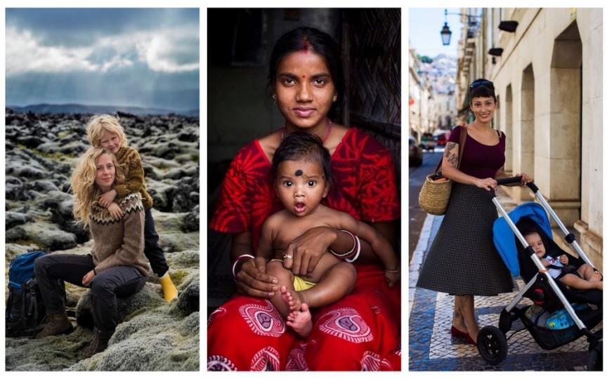 (FOTO) Cum arată o mamă în diferite colțuri ale lumii