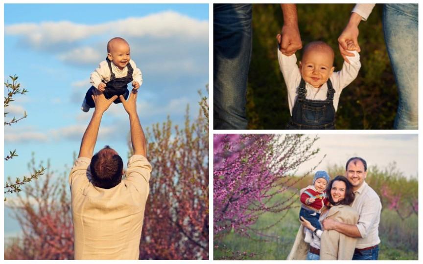 Soțul i-a fost alături de naștere și susține că aceasta a fost cea mai bună decizie