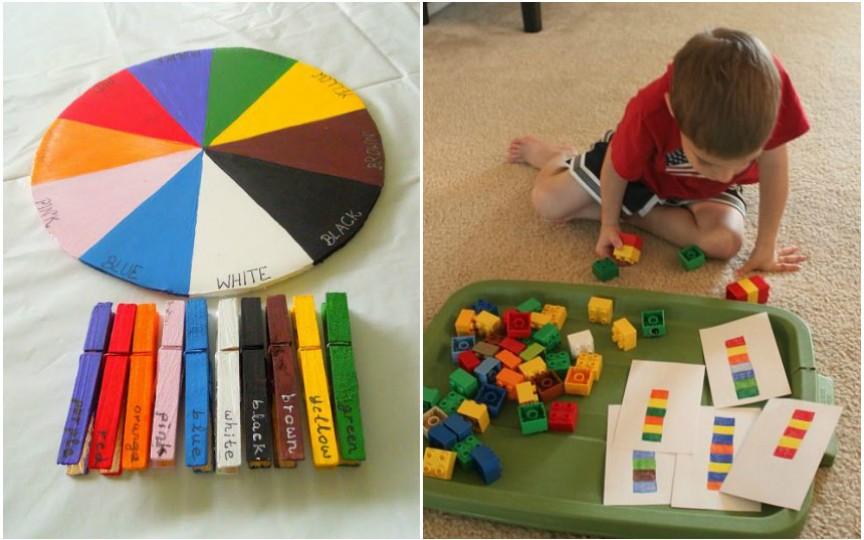 Cele mai ușoare și distractive modalități de a învăța culorile