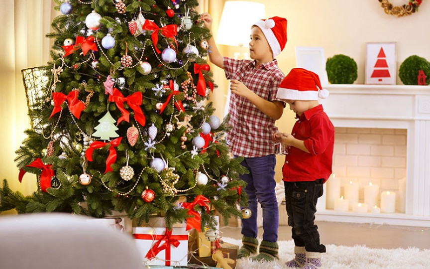 Idei cum să facem un brad de Crăciun deosebit