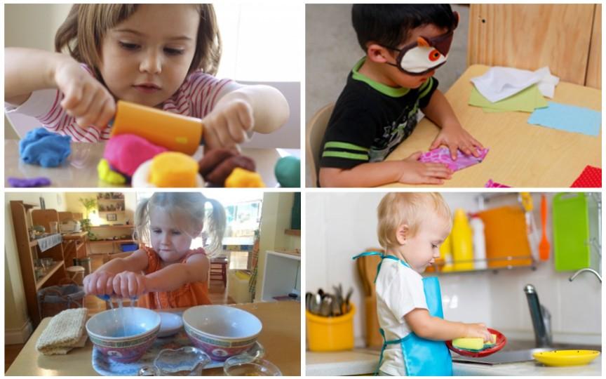 15 activități Montessori ideale pentru copii
