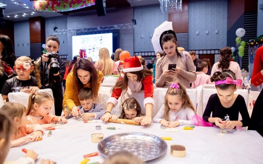 Cele mai bune centre de creație au bucurat odorașii la Crăciunul Copiilor