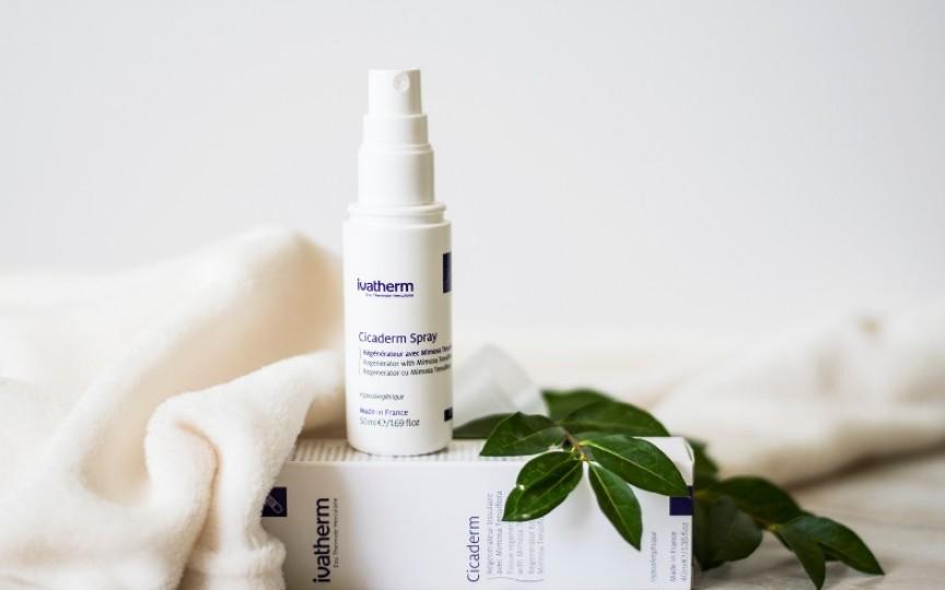 Leziunile de piele pot fi tratate rapid cu Cicaderm Spray