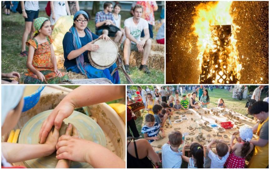 Află de ce trebuie să mergi cu cei mici la festivalul Cucuteni 2017